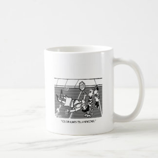 Crossing Guard Cartoon 2163 Coffee Mug