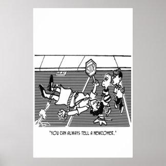 Crossing Guard Cartoon 2163 Poster