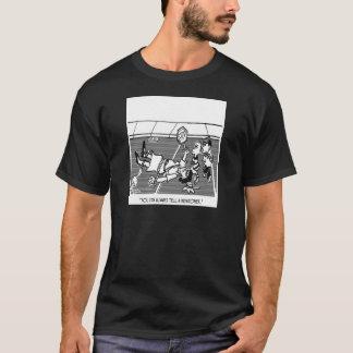 Crossing Guard Cartoon 2163 T-Shirt