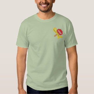 Crossing Guard Embroidered T-Shirt