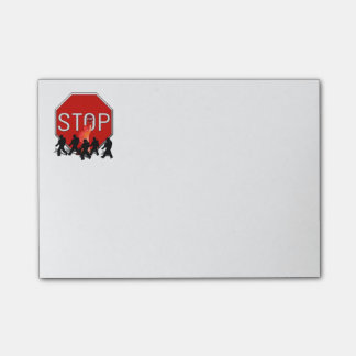 Crossing Guard w/Kids & Stop Sign Post-it® Notes