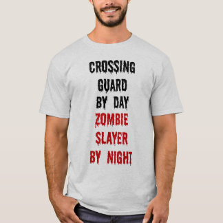Crossing Guard Zombie Slayer T-Shirt