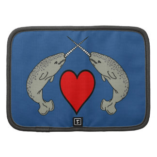 Crossing Horns Narwhal With Heart Organizers