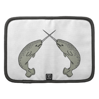 Crossing Horns Narwhals Planner