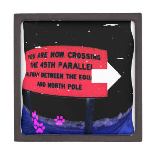 Crossing Keepsake Box