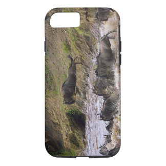 Crossing of the Mara River by Zebras and iPhone 7 Case