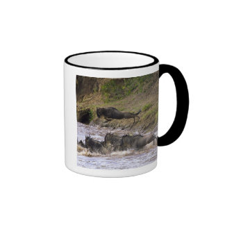 Crossing of the Mara River by Zebras and Coffee Mugs