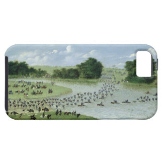 Crossing of the San Joaquin River, Paraguay, 1865 iPhone SE/5/5s Case