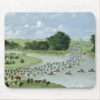 Crossing of the San Joaquin River, Paraguay, 1865 Mouse Pad