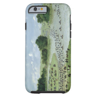 Crossing of the San Joaquin River, Paraguay, 1865 Tough iPhone 6 Case