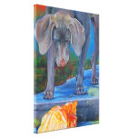 Crossing Paths Gallery Wrapped Canvas