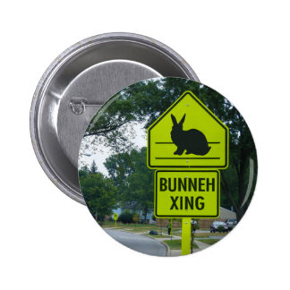 CROSSING PINBACK BUTTONS