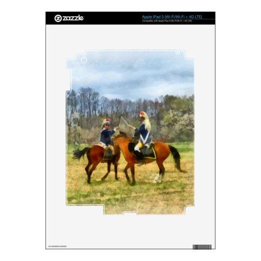 Crossing Sabers iPad 3 Skin