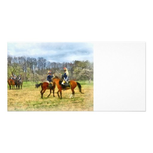 Crossing Sabers Photo Greeting Card