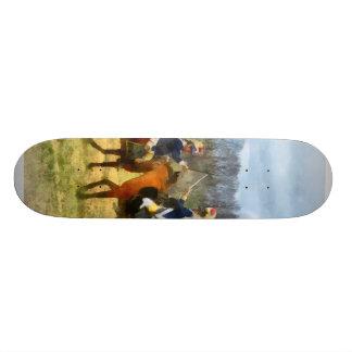 Crossing Sabers Skate Board Decks