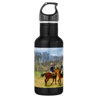 Crossing Sabers Stainless Steel Water Bottle