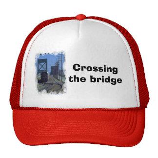 Crossing the bridge trucker hat