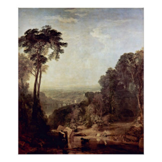 Crossing the Brook by Joseph William Turner Print