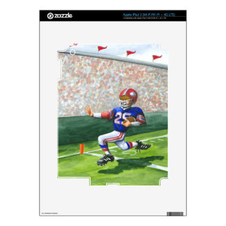 Crossing the Goal Line for a Touchdown iPad 3 Skin