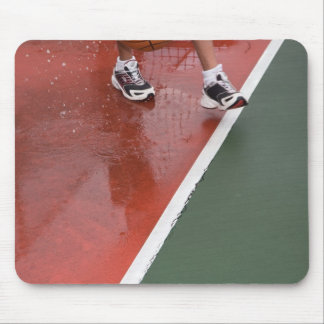 crossing the line mouse pad
