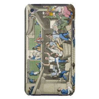 Crossing the Line, plate from 'The Adventures of J Barely There iPod Case