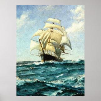 Crossing the Ocean Print