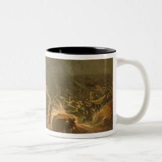 Crossing the Red Sea Two-Tone Coffee Mug