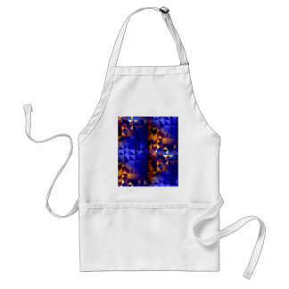 Crossing Time Adult Apron