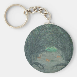 Crossing to the Other Side Key Chain