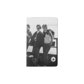 Crossing via ferry pocket moleskine notebook