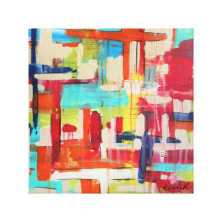 Crossings 12x12 Wrapped Canvas