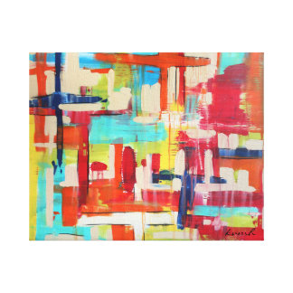 Crossings 20x16 Wrapped Canvas
