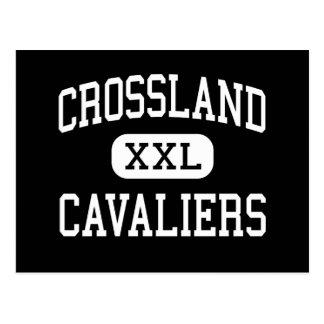 Crossland - Cavaliers - High - Temple Hills Postcard