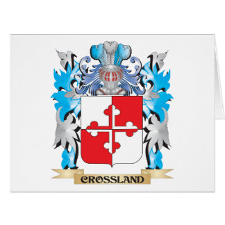 Crossland Coat of Arms - Family Crest Cards