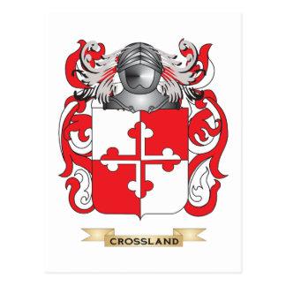 Crossland Coat of Arms Postcards