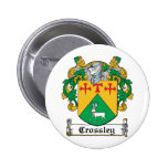 Crossley Family Crest Button