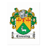Crossley Family Crest Postcards