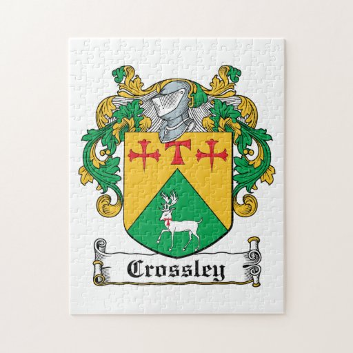 Crossley Family Crest Puzzles