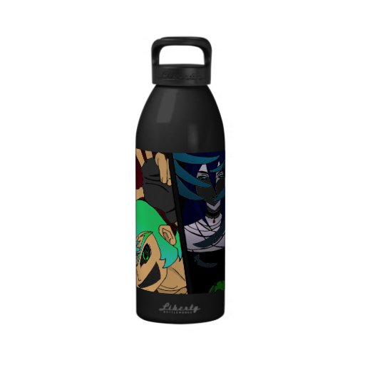 Crossover Characters Drinking Bottle