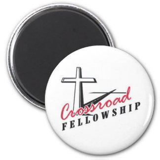 Crossroad Pin Magnet
