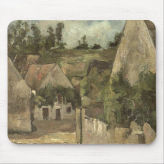 Crossroads at the Rue Remy, Auvers, c.1872 Mouse Pad