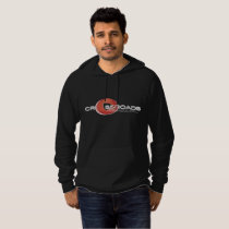 Crossroads BJJ Black Pull Over Hoodie Men's