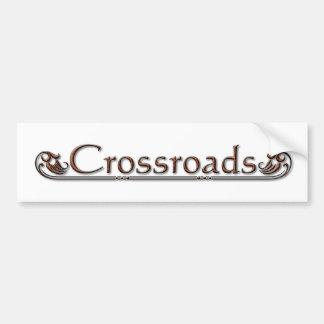 Crossroads Bumper Sticker