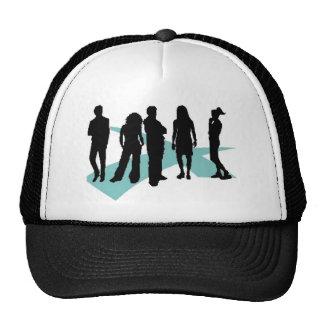 crossroads lifegroup icon logo trucker hat