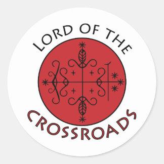 Crossroads Lord Classic Round Sticker