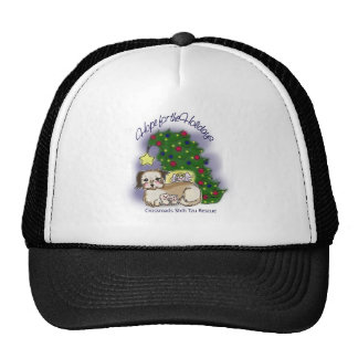 Crossroads Shih Tzu Rescue Hope For the Holidays Trucker Hat
