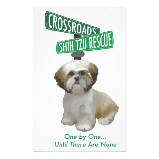 Crossroads ShihTzu Rescue Stationery