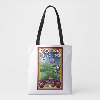 Crossroads Solar Eclipse Tote Bag