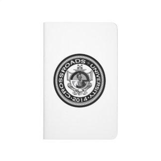 Crossroads University Pocket Notebook Journal
