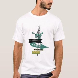 Crossroads Vintage Diner Sign T-Shirt
